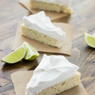 Easy Lime Cake with Whipped Coconut Cream