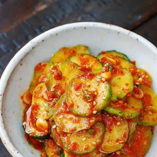 Oi Muchim (Spicy Cucumber Salad)