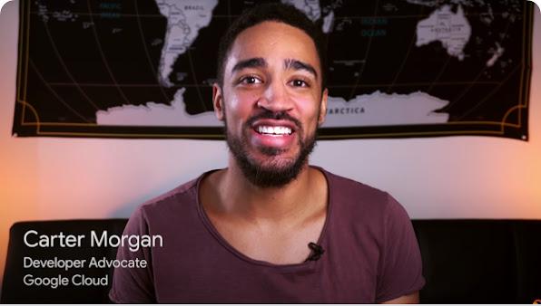 Developer advocate Carter Morgan facing the camera and smiling.