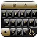Keyboard Theme Gloss Gold