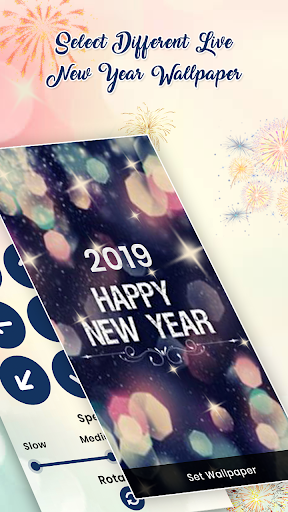 New Year 2019 Live Wallpaper 1.0 screenshots 2