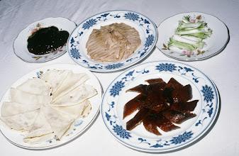 Photo: 11196 南京/双門楼賓館/全鴨席/料理/金陵烤鴨/アヒルの丸焼き