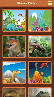 Dinosaur Puzzles Screenshot