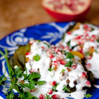 Chiles en Nogada (Stuffed Poblano Chiles with Walnut Sauce)