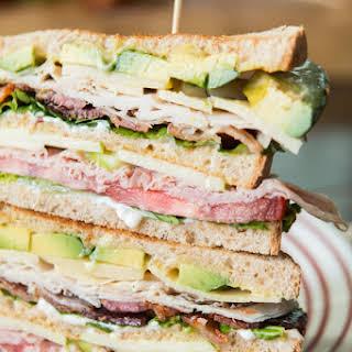 The BEST Triple Decker Club Sandwich.