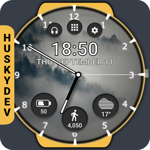 Real Weather Watch Face Reborn Icon