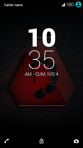 android For Xperia Theme Scorpio Screenshot 2