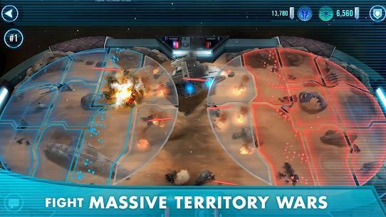 Download Star Wars: Galaxy of Heroes Android Star Wars role-playing game + mod 5