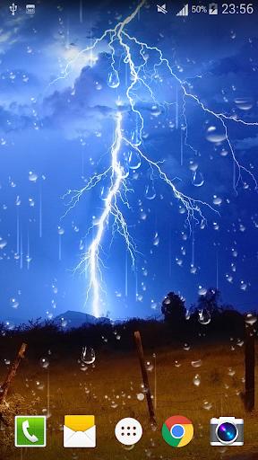 Thunder Storm Live Wallpaper screenshot 4