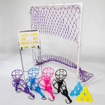 球隊訓練套裝Lite(球拍15塊、球30個、球門2個、球籃及標誌筒)