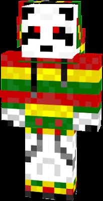 Un panda Rasta !