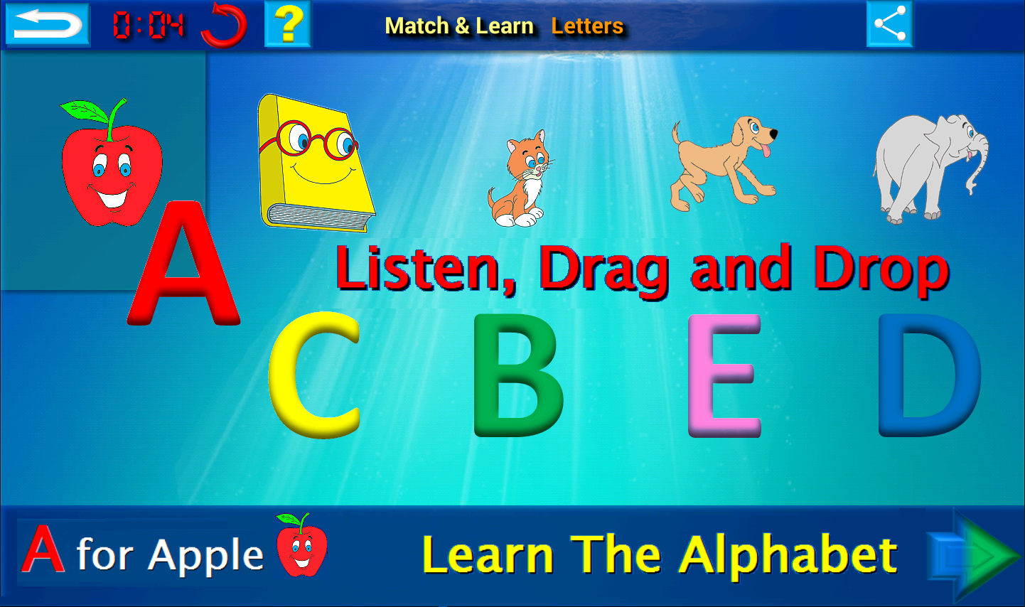 ABC 123 Learn English- screenshot