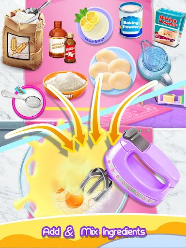 Princess Cake - Sweet Trendy Desserts Maker apkpoly screenshots 6