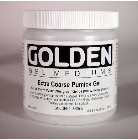 Golden 237ml Extra Coarse Pumice Gel