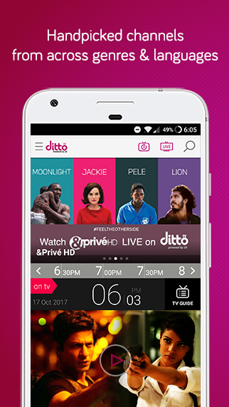 dittoTV: Live TV Shows, News & Movies Screenshot