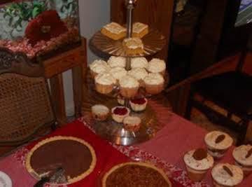 Mandarin Orange Cupcakes