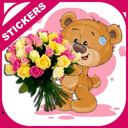 Flower Stickers WaStickerApp- Flowers for Whatsapp