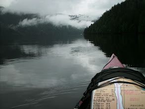 Photo: June 8 - Heading north up Graham Reach.