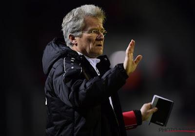 Laszlo Bölöni, le coach de l'Antwerp était furieux après le match contre La Gantoise (0-0)