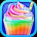 Unicorn Food - Sweet Rainbow Ice Cream Milkshake Icon