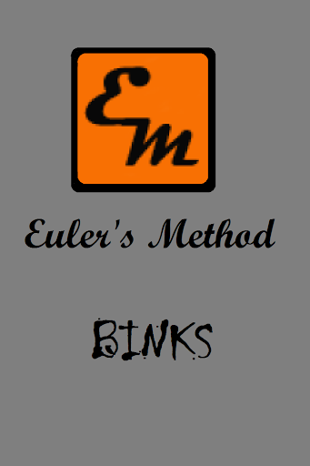 Euler's Method