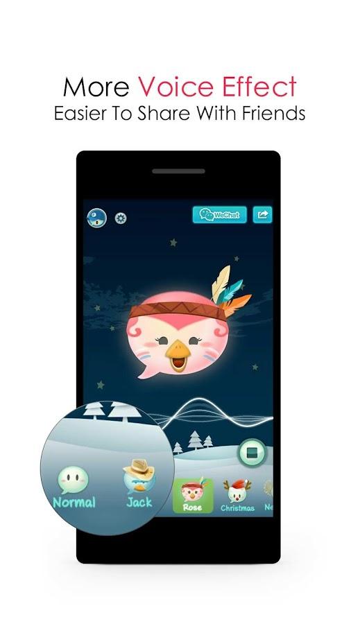 WeChat Voice- screenshot