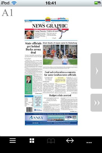 Cedarburg News Graphic