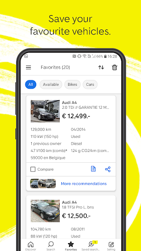 AutoScout24 - used car finder  screenshots 5