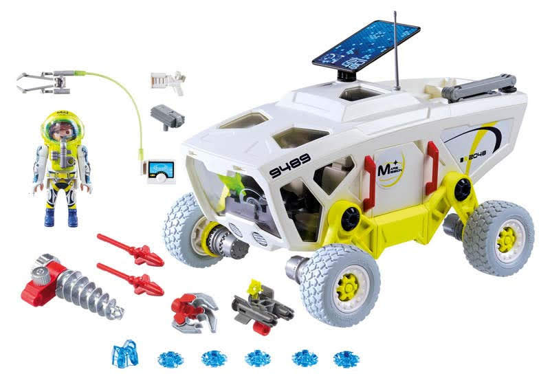 Contenido real de Playmobil® 9489 Vehículo de Reconocimiento