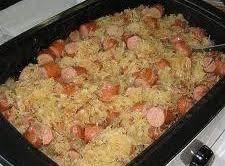 Crockpot Bavarian Dinner