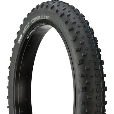 "Schwalbe  26x4.0"" Jumbo Jim SnakeSkin Fat Bike Tire with Addix SpeedGrip Thumb"