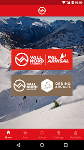 Vallnord App- screenshot thumbnail