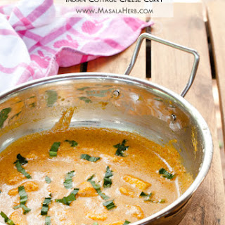 Paneer Korma Recipe - Indian Cottage Cheese Curry - mughlai shahi paneer