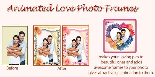 Animated Love Frames - GIF