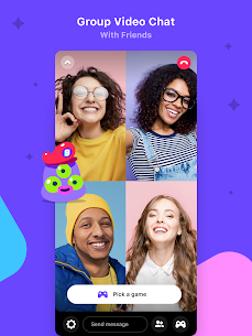 Bunch: Group Video Chat & Party Games App Download For Android and iPhone 8