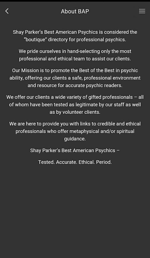 Best American Psychics- screenshot