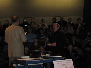 Photo: Pete Simmons to Prof. Peter Rachleff