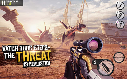 Game Best Sniper Legacy: Dino Hunt & Shooter 3D APK for Windows Phone