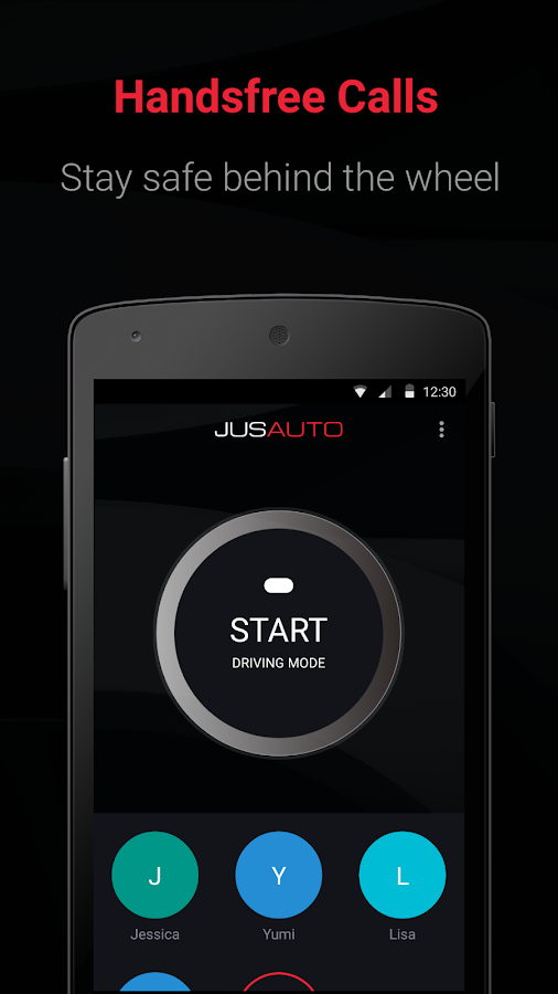 JusAuto - Free voice calls with speech recognition- screenshot
