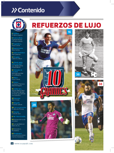 Cruz Azul FC Revista Oficial- screenshot