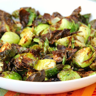 Honey & Balsamic Air Fryer Brussels Sprouts Recipe