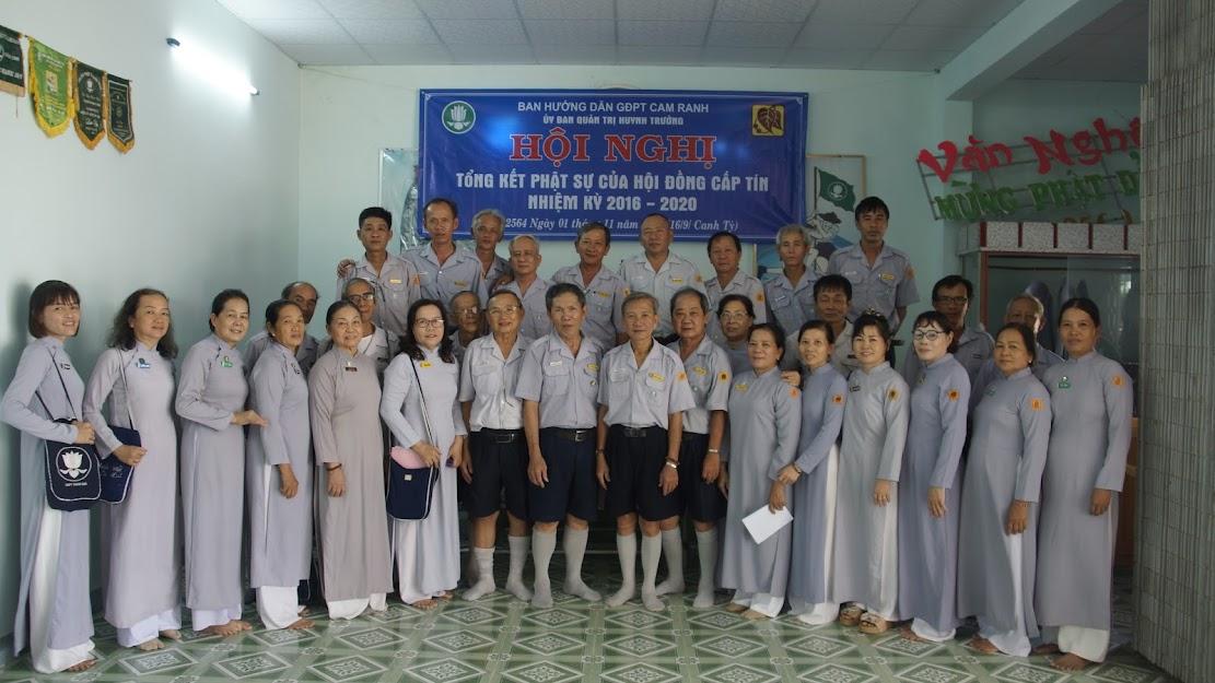 Hội nghị Hội đồng Huynh trưởng cấp Tín GĐPT Cam Ranh – nhiệm kỳ 2020 – 2024