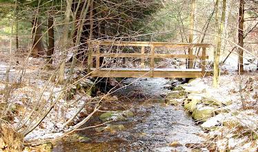 Photo: bridge over brook