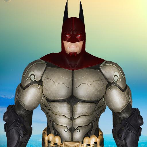 Bat Superhero vs ninja turtle: Crime City Battle