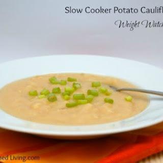 Slow Cooker Potato Cauliflower Soup.