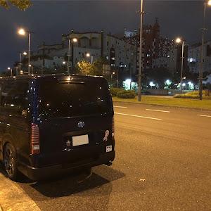 ハイエースバン TRH200V 2018年式 5MT 2000ガソリン車のカスタム事例画像 かまちゃん。さんの2019年10月18日00:49の投稿