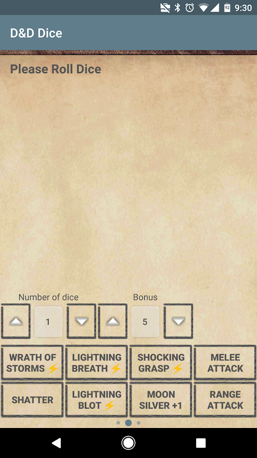 D&D Dice by b.freq- screenshot
