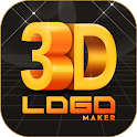 3D Logo Maker: Create 3D Logo and 3D Design Free icon