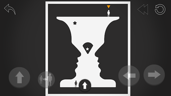 Negative Space - Stickers Crossing Puzzle Screenshot