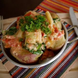Papas Chorreadas - Creamy Colombian Potatoes